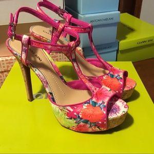 Beautiful floral heels